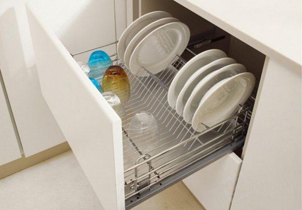 Современные сушилки для посуды