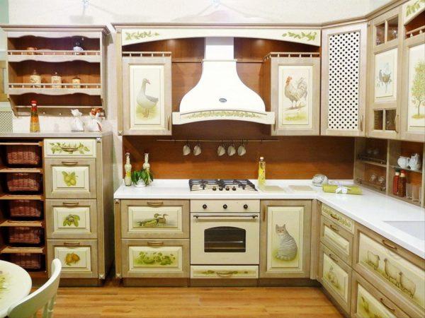 мебель из массива для кухни