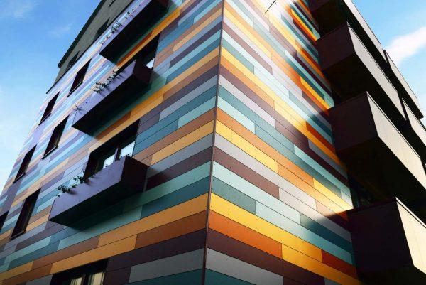 пример фасада здания