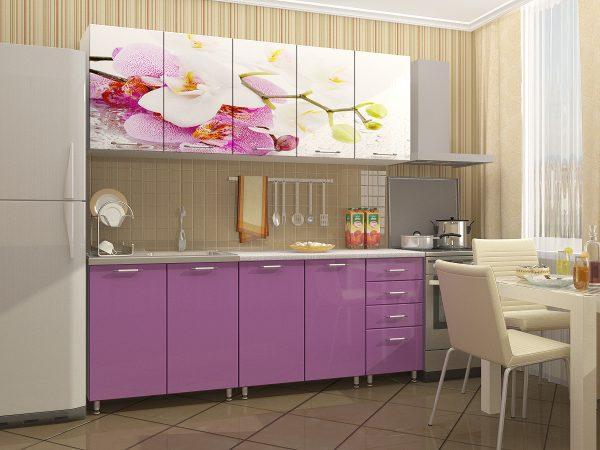 гарнитур в фиолетовом цвете