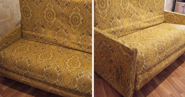 У всех кризис, а у нас красота Преображение советского дивана рекомендации