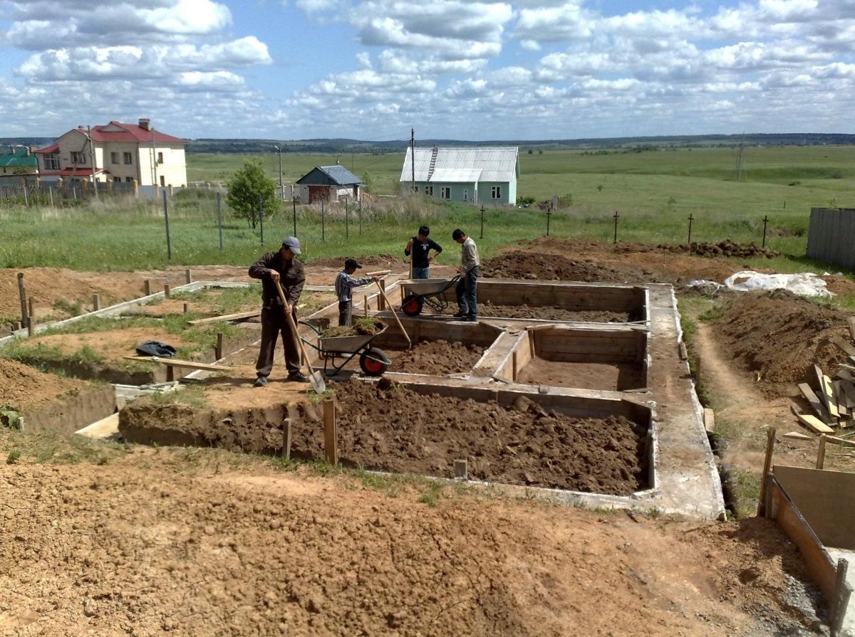 земельный участок начать строительство