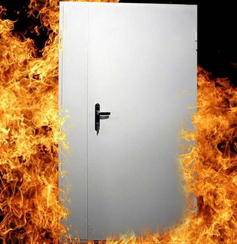 Чем отличаются противопожарные металлические двери