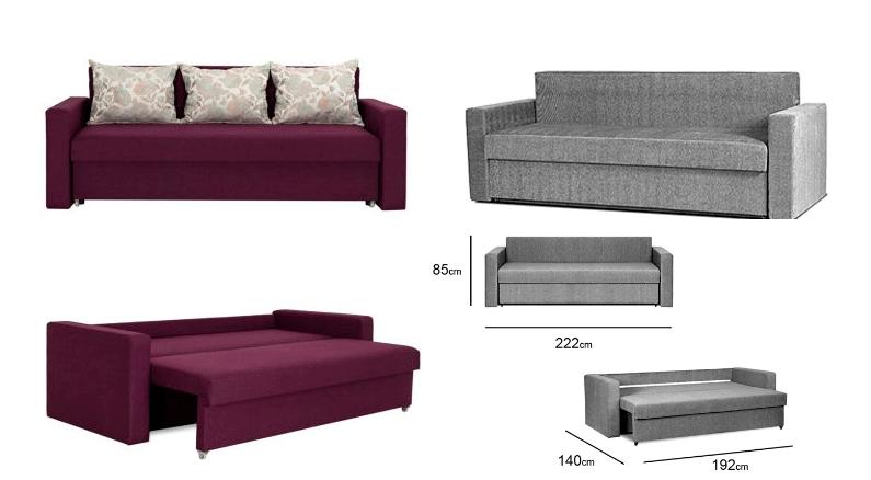Плюсы дивана-еврокнижки