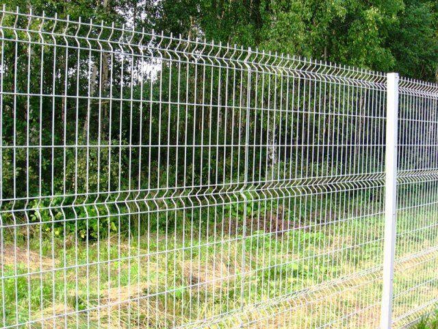 Быстровозводимый забор из сеток