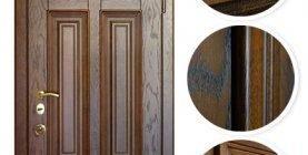 Как выбрать внешнюю отделку двери