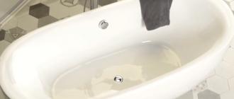 Определяемся с материалом и формой новой ванны