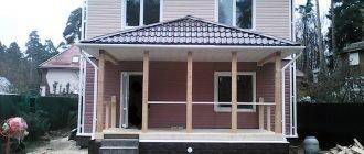 Каркасные дома с вальмовой крышей