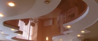 Натяжные потолки – особенности