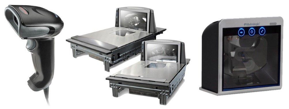 Основные виды сканеров для штрих-кодов