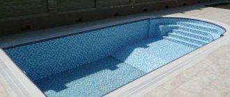 Особенности бетонного бассейна