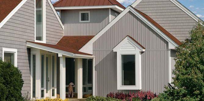 Горизонтальный и вертикальный сайдинг для дома