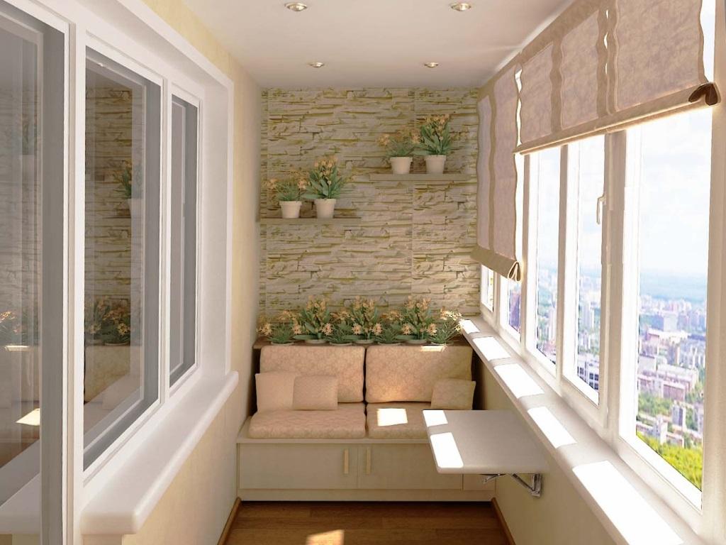 Как выбрать отделку для оформления балкона