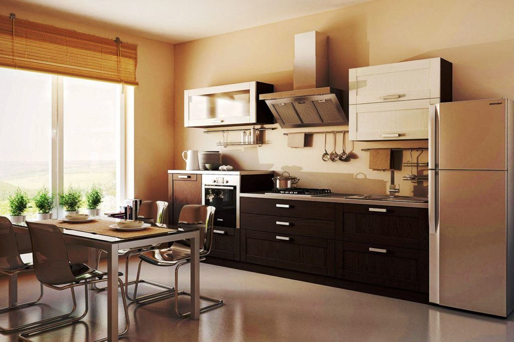 Планировки кухонных гарнитуров, их виды и особенности