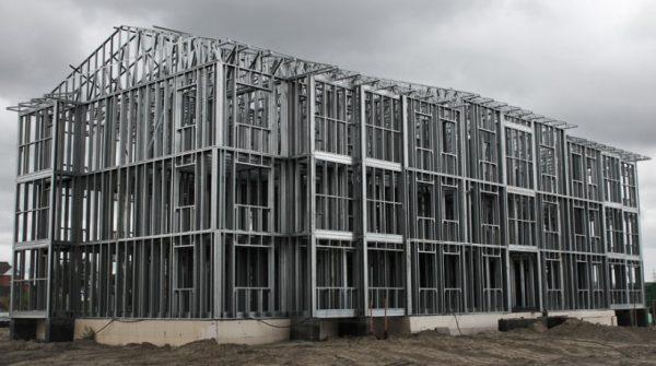 Технология строительства из ЛСТК