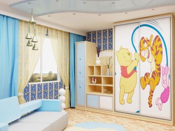 Выбор шкафа-купе в детскую комнату