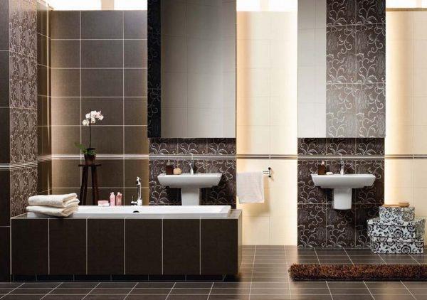 Правильно выбираем плитку для ремонта ванной комнаты