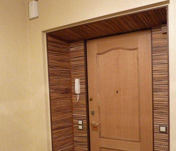 Как правильно выбрать отделку для входной двери