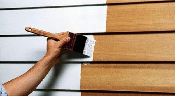 Основные виды красок для дерева
